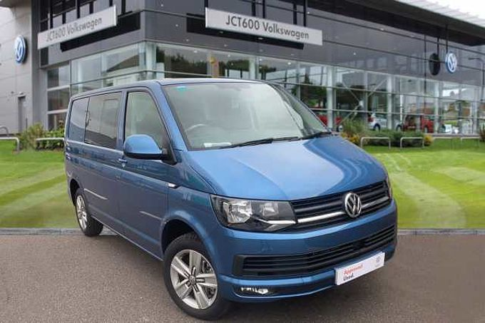 Volkswagen Transporter T32 Kombi Highline SWB EU6 150 PS 2.0 TDI BMT 6sp Manual